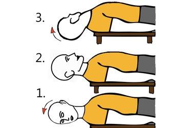 Circunducción de la cabeza supino