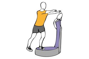 Equilibrio sobre una pierna sobre plataforma vibratoria