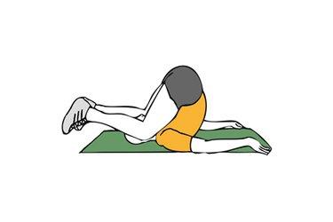 Estiramiento vertebral dorsal y lumbar