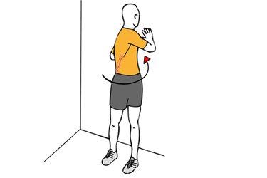 Estiramiento de abdominales oblicuos y espalda