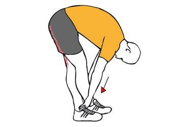Estiramiento de extensores de cadera de pie