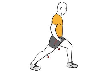 Estiramiento de flexores de cadera