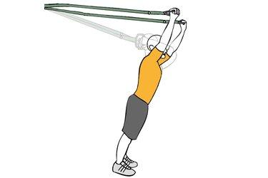 Extensión de triceps con trx