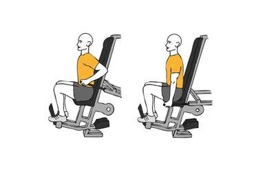 Extensión de tríceps sentado en máquina