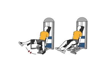 Adducción de cadera en maquina sentado