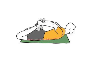 Estiramiento de abdominales  y flexores de cadera