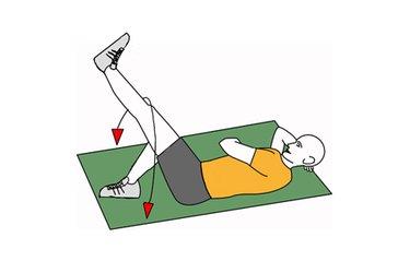 Balanceo de cadera tumbado lateral