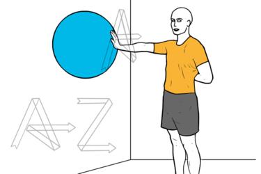 Control escapular en el plano de la escapula