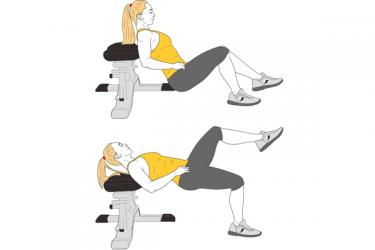 Elevación de cadera a una pierna