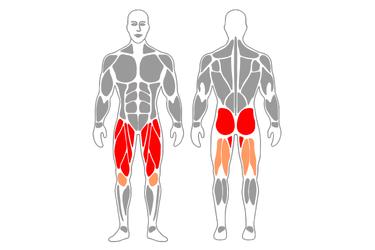 Elevación de una pierna en extensión