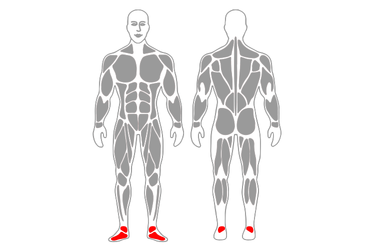 Equilibrio a una pierna sobre almohada