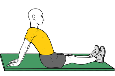 Estiramiento de bíceps y pectoral
