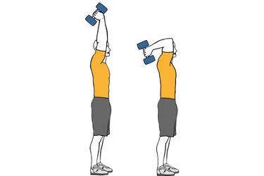 Resultado de imagen de extension de triceps