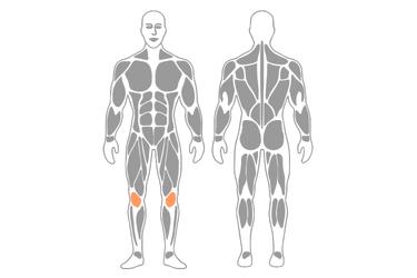 Extensión de rodilla por gravedad