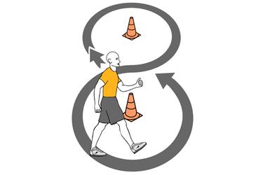 Figura 8 con conos
