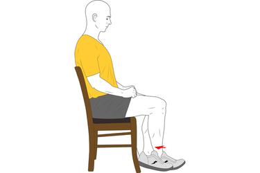 Flexión de rodilla autoasistida