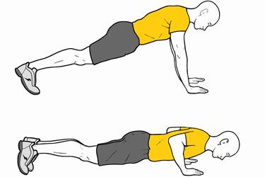 Flexiones de brazos