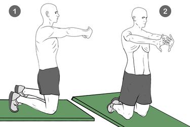 Hipopresivo de rodillas