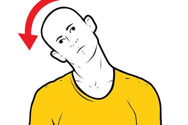 Inclinación de la cabeza a la derecha