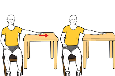 Movilización del hombro en abducción