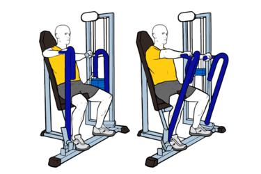 Press pectoral en maquina sentado