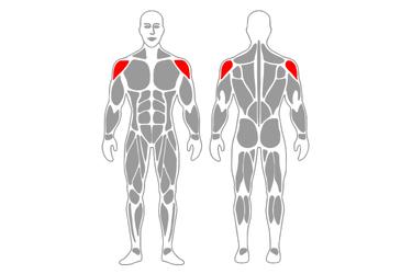 Rotación externa de hombros con banda elástica