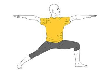 Yoga: Postura del Guerrero 2