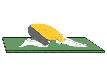 Yoga: Postura del niño
