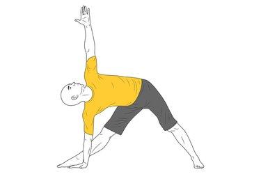 Yoga: Postura del Triangulo