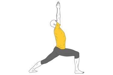 Yoga: Postura del Guerrero 1