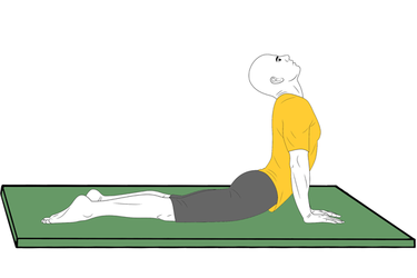 Yoga: Postura de la Cobra